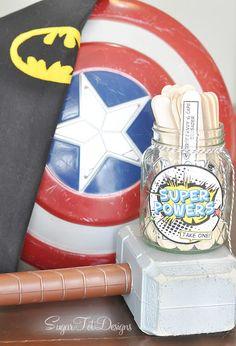 sugartotdesigns: Superhero Summer Boredom Buster!