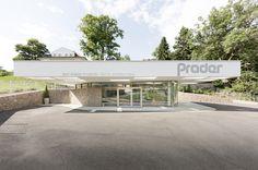 OBST & GEMÜSE PRADER GESCHÄFT / Klobenstein am Ritten // MESSNER Architects