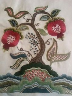 Jacobean embroidery