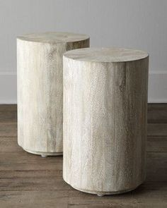 Doubles as coffee tables or stools?