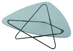 AA-New Design - Table AA Butterfly - Structure noire - L 95 cm x 89 x 35 cm  714 -