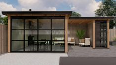 Tiny House Builders, Building A Tiny House, Summer House Garden, Home And Garden, Outdoor Island, Tiny House Community, Driveway Landscaping, Living Room Trends, Container House Design