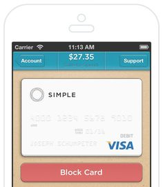 Recently made the switch to Simple Bank...not only is the brand's design gorgeous, but it makes saving money so easy and practical! (I have 8 invites left FYI)