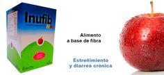 Inufib niños - Alimento a base de fibra  para el tratamiento y prevención de estreñimiento y diarrea crónica en los niños.