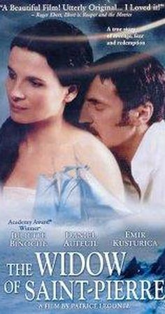 Directed by Patrice Leconte.  With Juliette Binoche, Daniel Auteuil, Emir Kusturica, Michel Duchaussoy. In a small French colony, a drunken man kills someone. While a guillotine is being shipped in, he changes, becoming a good and popular man.