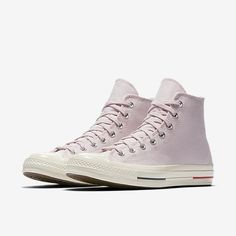 Wild Alligator Converse® pink high top Chuck Taylor All Stars sneakers