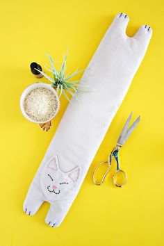 Kitty Rice Heating Pack DIY