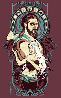 Dothraki Nouveau (Game of Thrones) by Corrose.deviantart.com on @deviantART