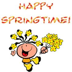 Download Free Animated Pictures, Gif & Clipart Images to Welcome Spring #spring #animatedgif #images