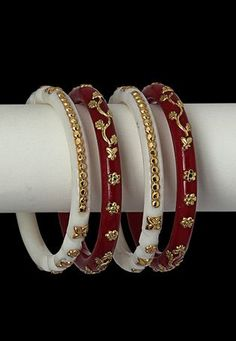 Bridal & Wedding Party Jewelry Engagement & Wedding Knowledgeable 2.4 S Bollywood Bangles Bracelet Indian Punjabi Bridal Jewellery Chura Maroon D6