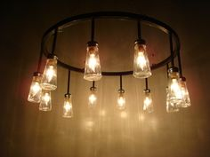 12 salt shaker chandelier by surthrival on Etsy, $525.00