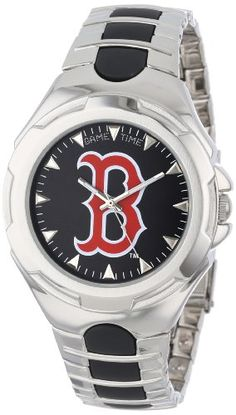 Game Time Mens MLBVICBOS Victory Watch  Boston Red Sox >>> Visit the image link more details.