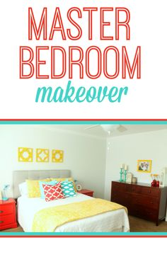 Master Bedroom Makeover from Six Sisters' Stuff | Six Sisters' Stuff