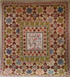 Every Stitch: January 2013..beautiful! Altered version of Di Ford Burnt quilt from Primarily Quilts