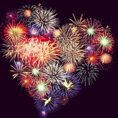 Fireworks can be so romantic