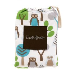 Fitted Crib Sheet - Owls | giggle