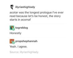 Is ACOWAR the epilogue then?  But also, like Throne of Glass is also its own prologue, because imo the story doesn't start until Nehemiah dies