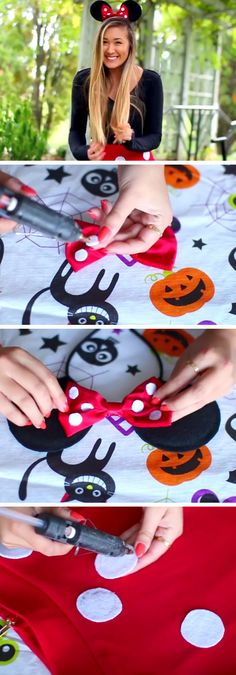Minnie Mouse Costume | 15+ Easy Halloween Costumes for Teens Girls