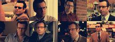 Hugh in a Degrassi montage