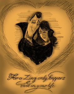 """Hotel Transylvania """"For a zing only happens once in your life"""" Dracula & Martha Dracula, Disney And Dreamworks, Disney Pixar, Citations Disney, Favorite Movie Quotes, Fan Art, Disney Dream, Animation Film, Monsters"""