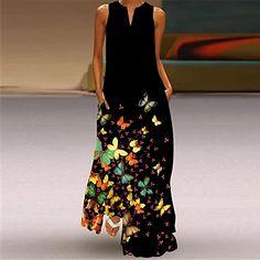 LightInTheBox - Global Online Shopping for Dresses, Home & Garden, Electronics, Wedding Apparel Plus Size Long Dresses, Women's A Line Dresses, Cheap Maxi Dresses, Types Of Dresses, Summer Dresses For Women, Blue Dresses, Women's Dresses, Manga Floral, Vestido Maxi Floral