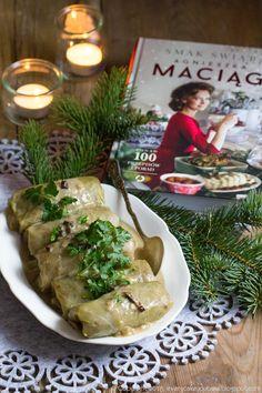 gołąbki z kaszą gryczaną i grzybami My Favorite Food, Favorite Recipes, Polish Christmas, Cabbage Rolls, Polish Recipes, Food Design, Bon Appetit, Food To Make, Good Food
