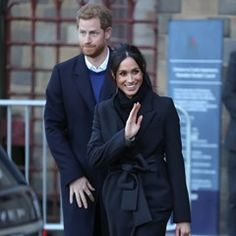 Prince Harry and Meghan Markle depart Cardiff Castle
