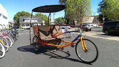 Pineapple Trikes Sociable Tandem Cargo Trike