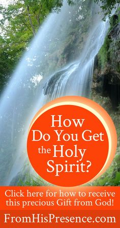If you want more of God in your life, here's how to get the Holy Spirit. Post #2 in a very encouraging blog series!