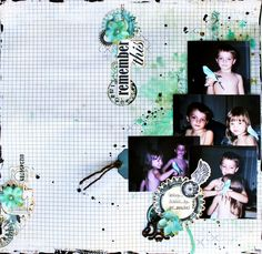 Swirlydoos DT project featuring the September kit of the month.