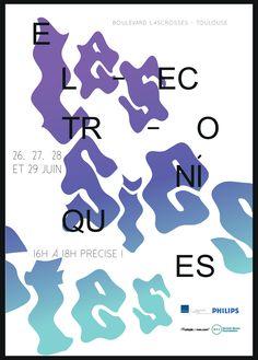 Affiche | LES SIESTES ÉLECTRONIQUES