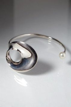 Bracelet, designed by Torun Bülow-Hübe for Georg Jensen, Denmark. 1973.