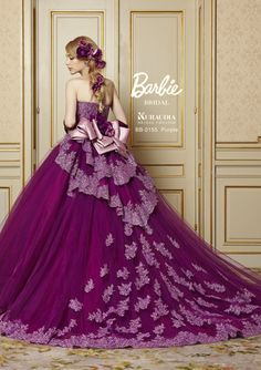 Barbie bridal ball gown