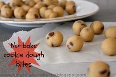 No-bake cookie dough bites | Amuse Your Bouche