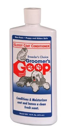 Groomers Goop Glossy Coat Conditioner 16oz *** Be sure to check out this awesome product. (Note:Amazon affiliate link)