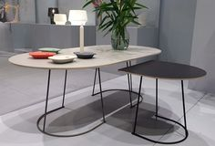 Airy Table by Cecilie Manz for Muuto | Salone Del Mobile, Milan 2014 #muuto #jaaf