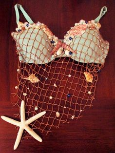 Items similar to Mermaid Shell Bra // Customized Rave Bra // For Her // Mermaid Halloween Costume // Sexy Mermaid Bra // Customized Bra Gift // Rave Outfit on Etsy Mermaid Halloween Costumes, Halloween Kostüm, Halloween Outfits, Pirate Costumes, Deer Costume, Turtle Costumes, Cowgirl Costume, Adult Costumes, Group Costumes