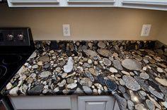 Black Mosaic Gold Granite/ Marinace Granite