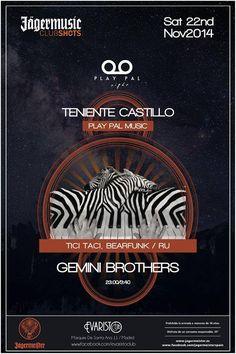 Gemini Brothers @ Evaristo Club, Madrid || 22.11.2014