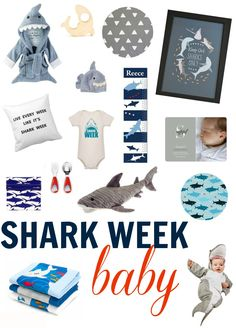 Its Officially Shark Week - Shark Week Baby Gear on BabyList