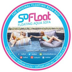 SoFloat Floating Aqua Sofa - Need a few of these in the pool this year! http://www.sofloat.com