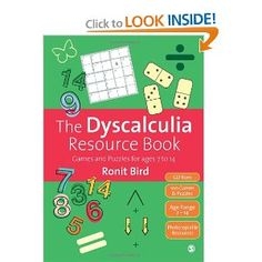 The Dyscalculia Resource Book: Games and Puzzles for ages 7 to 14: Ronit Bird: 9781446201688: Amazon.com: Books
