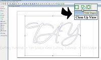 Making Interlocking Monograms Using Fonts & Overlap Welding for Silhouette, Cricut & All Vinyl Cutting Machines