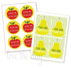 The Apple Of My Eye FREE Back To School Printables by Love The Day