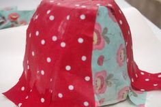 Fabric Bowl with Mod Podge – Factory Direct Craft Blog