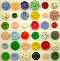 VINTAGE PLASTIC BUTTONS - Google Search