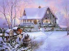 Image result for cross stitch patterns winter scenes