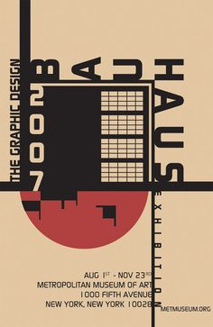 Bauhaus-Poster-2 Artistic Typography Projects