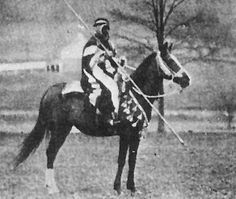 WADDUDA 30 - Famous 1899 war mare of Shaikh of the Fidan-Anazeh and gifted to Akmet Haffez, representative of Anazeh tribes to Aleppo's governor then to Homer Davenport who imported her to USA in 1906 (along with Said Abdullah, her devoted servant) As a war horse pursuing a caravan from Aleppo, she covered 106 miles in 11 hours, carrying a bullet wound in her pastern, and lance scars on neck & shoulder - part of the legendary Arabian endurance.