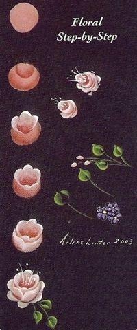 8662 En Iyi çiçek Boyama Görüntüsü 2019 Paint Painting